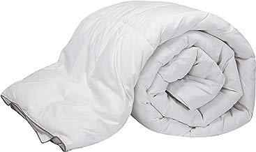 Pikolin Home - Edredón/Relleno nórdico natural de plumón de oca 96%, funda 100% algodón de percal, 220gr/m², 220x220cm-Cama 135/140 (Todas las medidas)