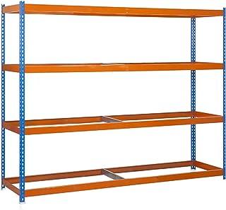 SIMONRACK Estantería Simonforte 1506-4 Azul/Naranja