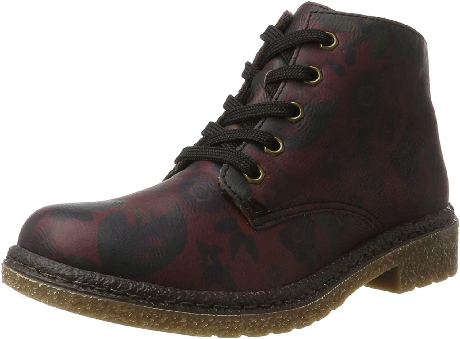 Rieker Women Ankle Boots red, (wine) 53240-35