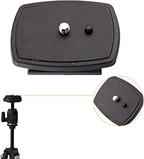 Yosoo Travel Tripod Head connect Kit DSLR SLR Replacement Rapid Connect Mounting Plate Platform Quick-Release Plates Syste...