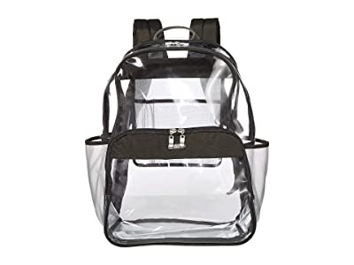 Baggallini Clear Event Compliant Large Backpack (Charcoal) Backpack Bags