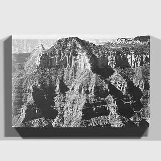 "Arty Pie""Ansel Adams Grand Canyon 8"" Print Canvas, Multi-Colour, 20 x 14-Inch"