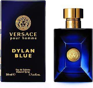VERSACE Pour Homme Dylan Blue for Men Eau De Toilette Spray, 1.7 Ounce