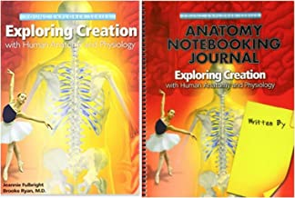 Exploring Creation with Human Anatomy and Physiology Textbook + Notebooking Journal, Set of 2 Books, Apologia Science