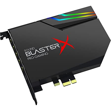 クリエイティブ・メディア Sound BlasterX AE-5 Plus Dolby Digital Live/DTS Connect SBX-AE5P-BK