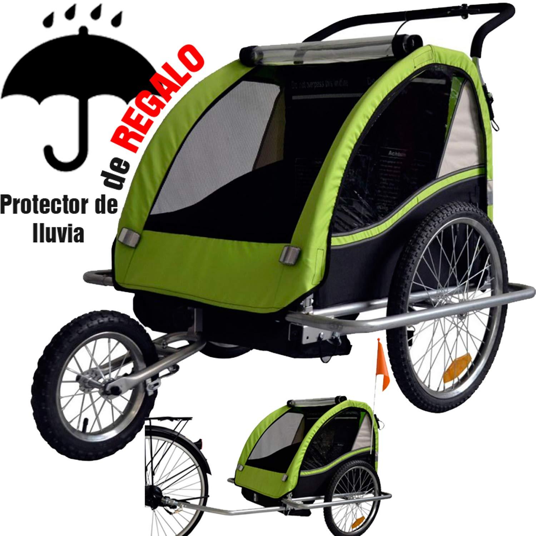RBO Remolque de Bicicleta para niños, carritos para Bicicleta ...