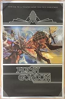 FLASH GORDON MOVIE POSTER 1 Sided ORIGINAL 25x38 SAM J. JONES CASTLE ARTWORK