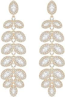 Crystal Baron Rose Gold-Tone Earrings