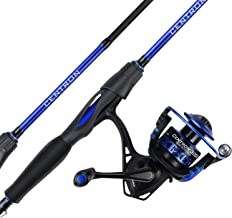 KastKing Centron Spinning Reel – Fishing Rod Combos, Toray IM6 Graphite 2Pc Blanks, Stainless Steel Guides