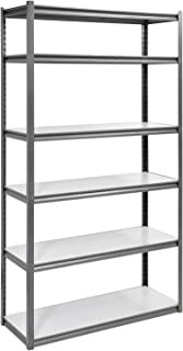 Muscle Rack UR4818HPSVL6 Boltless Storage Rack with 6 Shelves, 3000 lb Capacity, 48