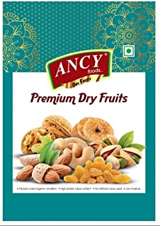 Ancy Foods Indian Raisins (Kishmish) Long Size and Sweet , 2 X 250 g