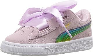 PUMA Unisex Kids' Minions Suede Heart Fluffy Sneaker