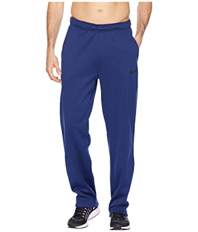 Nike Dri-FIT Therma Pants (Blue Void/Black) Men