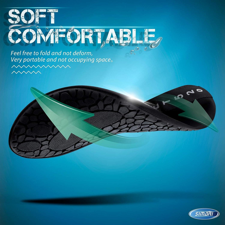 SIMARI Water Shoes Womens and Mens Quick-Dry Aqua Socks Barefoot for Outdoor Beach Swim Sports Yoga Snorkeling SWS002