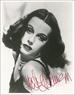 A4 Hedy Lamarr Autograph, Signed Photo Print Approx Size 11X8 INCHES