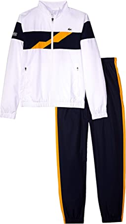 Taffetas Color Block Chest Band Tracksuits (Little Kids/Big Kids)