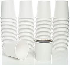 4 Oz. Paper Hot Coffee Cup For Espresso, Nespresso, Lavazza, Sampling Cup 100 Pack