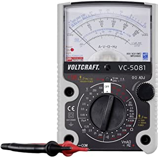 VOLTCRAFT VC-5081 Handmultimeter analog CAT III 500 V