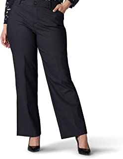 Lee Women's Plus Size Flex Motion Regular Fit Trouser Pant