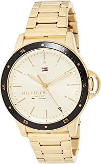 Tommy Hilfiger Womens Analogue Quartz Watch Diver with Stainless Steel Band