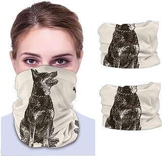 Nother Sittande australiensisk nötkreatur hund – Sepia ansiktsskydd för män och kvinnor, multifunktionellt pannband scarf ...