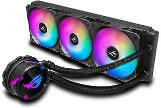 ASUS ROG Strix LC 360 RGB - Sistema de refrigeración líquida de CPU, Aura Sync RGB, Tubo de Goma Reforzado de 38 cm, Venti...