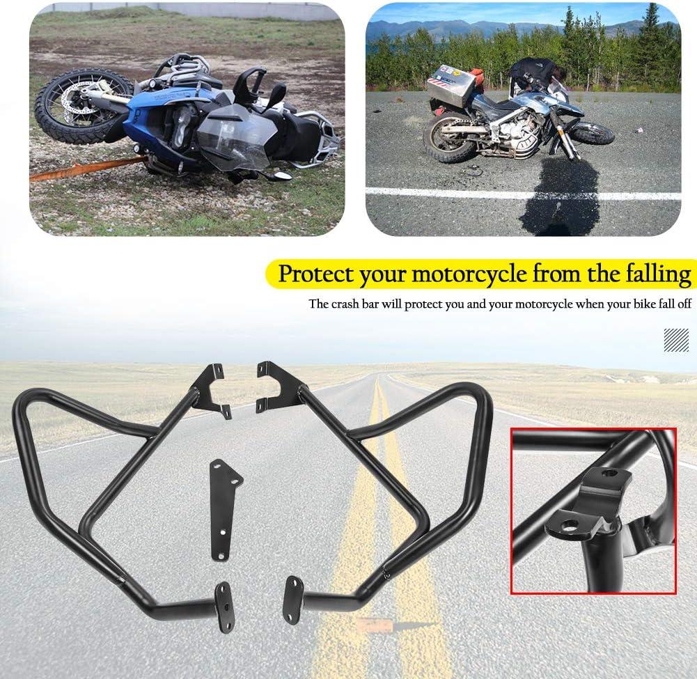 Full Set Motorcycle Versys650 Highway Crash Bars Engine Guard Frame Falling Protector Bumper for 2015 2016 2017 2018 2019 2020 Kawasaki Versys 650 KLE650 KLE 650 Parts 15-20 US Stock!