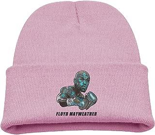 Big and Little Boys' Toboggan Hat Slouchy Beanie Winter Floyd Mayweather Watch Cap MensBeanies WatchCap