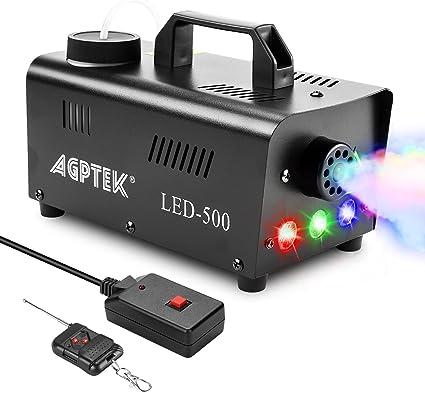 AGPTEK 500W Portable Led Smoke Machine