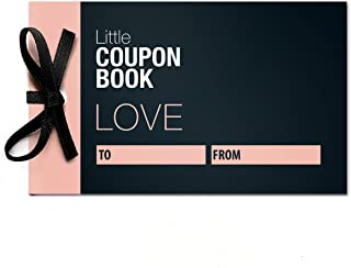 Little Coupon Book Blank Love Coupons for Him or Her