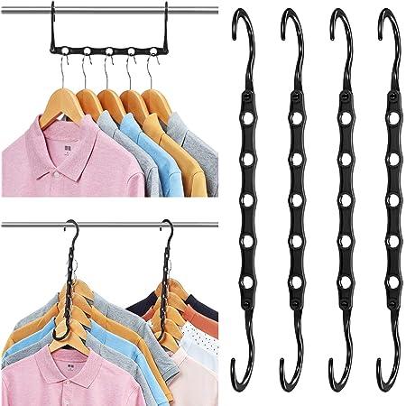 5pcs//pack Wonder Hanger Max Closet Space Saving Magic Hanger Cloth Hangers T5T6
