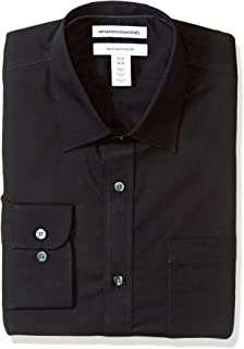 Amazon Essentials Men's Standard Regular-fit Long-Sleeve Dress Shirt