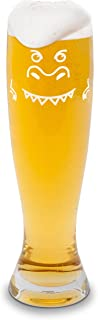 BigMouth Inc The Beer-Zilla Giant Beer Glass, Holds 36 oz, Easy to Clean, Great for Tailgating