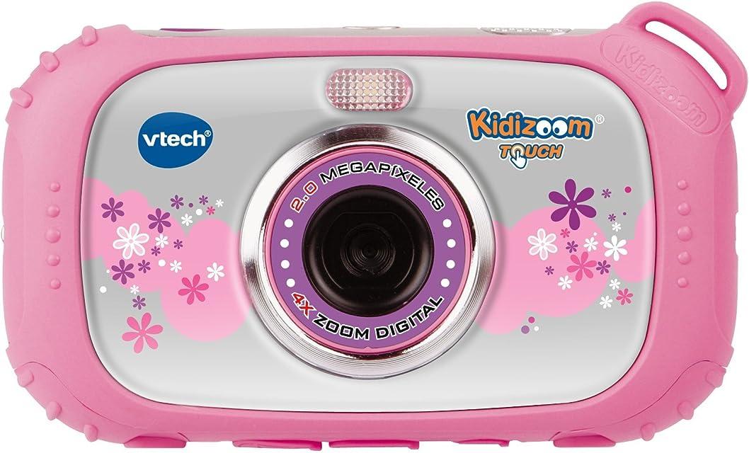 VTech - Cámara Kidizoom Touch Color Rosa (3480-145057)