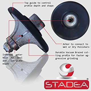 diamond radius profile wheel bits - Profile Grinding Wheel Radius Demi 1