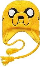 Adventure Time Jake Jacquard Beanie, Yellow, One Size
