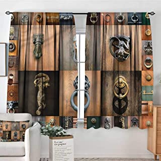 RenteriaDecor Antique,Indo Curtains/Drapes Medieval Old Door Knobs 104