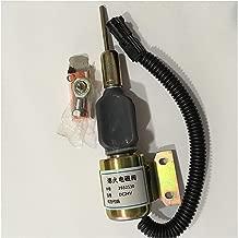 Fuel Shut Off Stop Solenoid 3932530 SA-4756-24 For CUMMINS R220-5 R210-3 4BT 6BT 5.9L Engine Excavator 24VDC