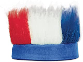 Beistle 60277-RWB Hairy Headband