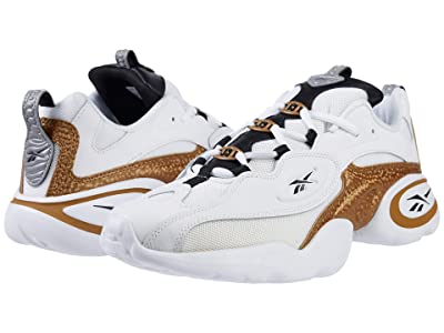 Reebok Lifestyle Electrolyte 97 (White/Gold/Black) Athletic Shoes