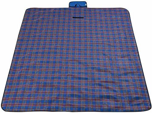 Lozse Camping Couverture de Pique-Nique imperméable à voiturereaux 145x200cm Oxford Tissu Tapis de Pique-Nique Tapis de Camping Tapis d'humidité