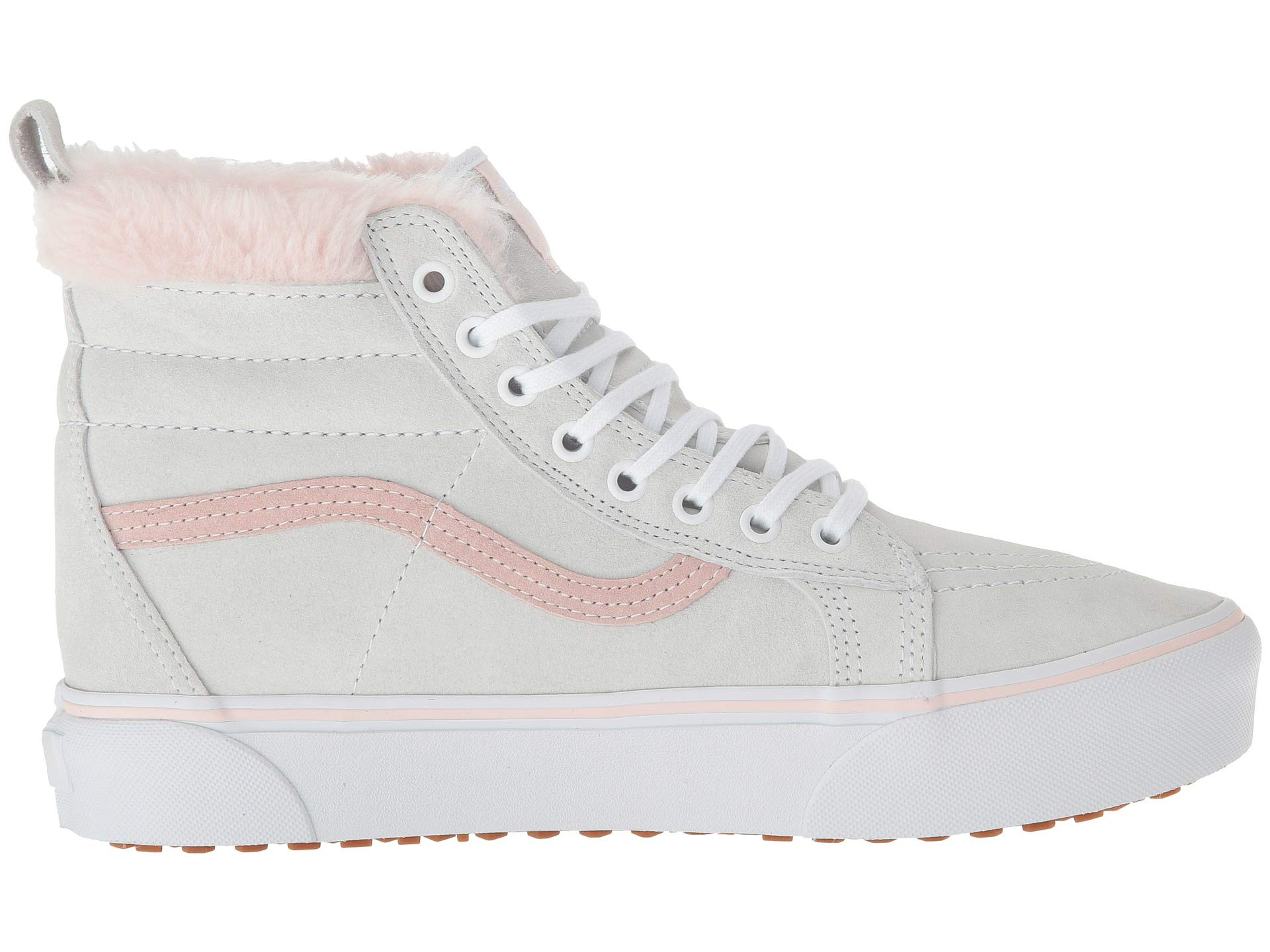 pink Vans Platform Fur White Sk8 mte Mte hi True 0q01xrw