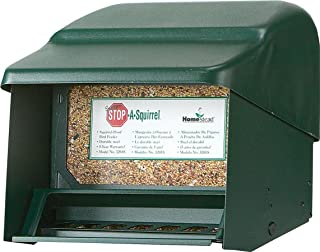 Homestead Super Stop-A-Squirrel Bird Feeder (Green River Texture) - 3201S - 1 Pack