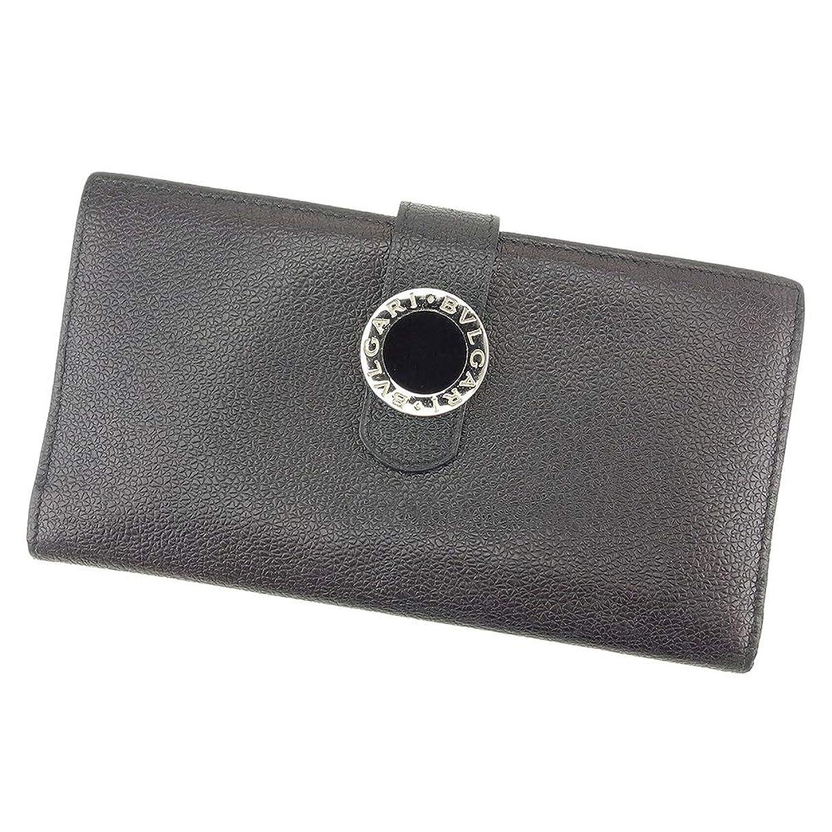 見せますトレイル遅らせる(ブルガリ) BVLGARI 長財布 ファスナー付き 長財布 レディース メンズ (ブルガリ)(ブルガリ) 中古 美品 T9001