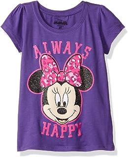 Disney Girls' Minnie Mouse Short Sleeve T-Shirt