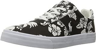 Polo Ralph Lauren Kids Kids' Hanford Black Base/Wht Floral Sneaker