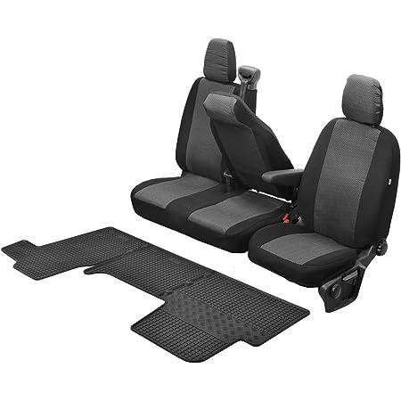 Passgenaue Sitzbezüge Hero Und Gummifußmatten Kompatibel Mit Renault Master Iv Ab 2011 Ein Set Auto