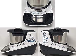 Sticker geschikt voor Bosch Cookit vuurtoren blauw