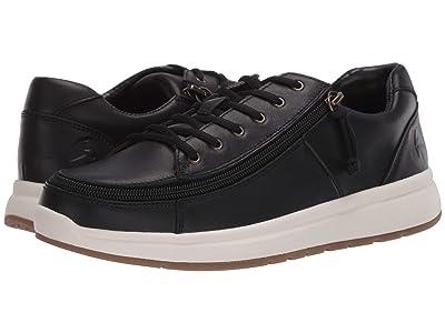 BILLY Footwear Comfort Leather Lo (Black/White) Women