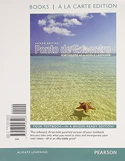 Ponto de Encontro: Protugueses as a World Language, Books a la Carte Plus MyLab Portuguese one semester with eText -- Access Card Package (2nd Edition) (World Languages)
